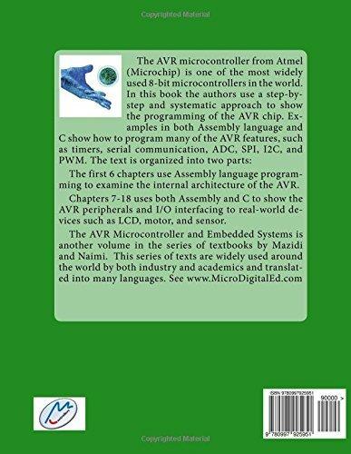 Avr Microcontroller Book