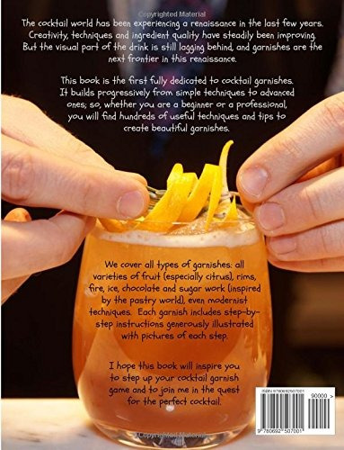 book : the cocktail garnish manual: the complete guide to...