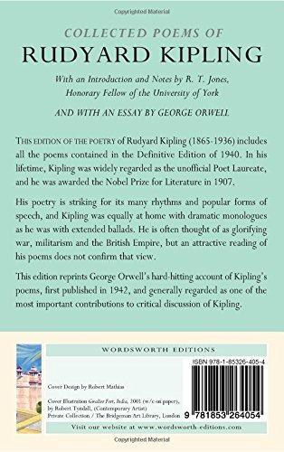 Book The Collected Poems Of Rudyard Kipling Wordsworth