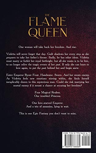 Book : The Flame Queen (the Legends Of Peradon) - Munro, Dax