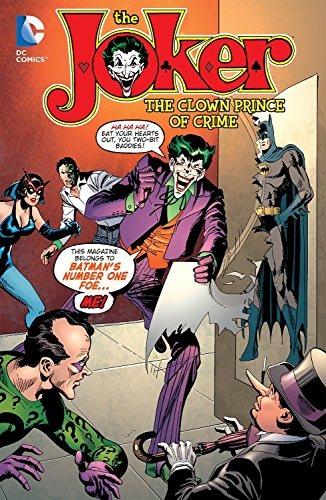 Book The Joker The Clown Prince Of Crime Joker Dc Co