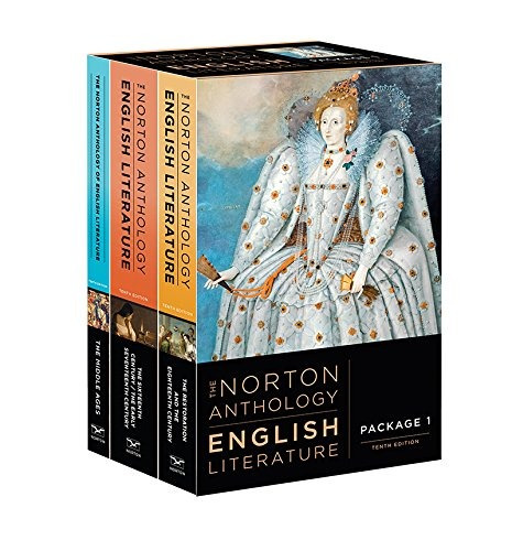 book : the norton anthology of english literature (tenth ...