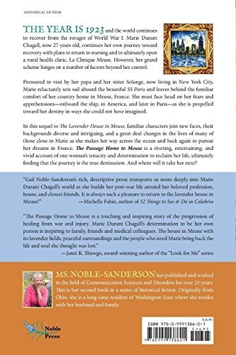 Book : The Page Home To Meuse - Noble-sanderson, Gail Where Is Wiring H on