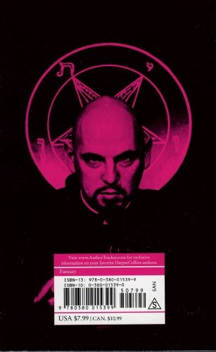 book : the satanic bible - anton szandor lavey