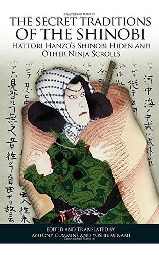 book : the secret traditions of the shinobi: hattori hanz...