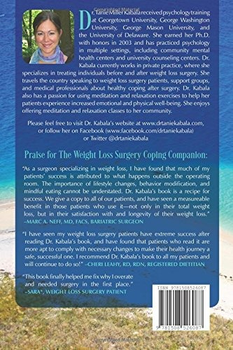 Book The Weight Loss Surgery Coping Companion A Practi