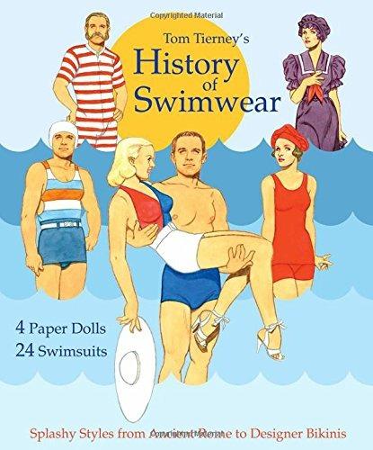 book : tom tierneys history of swimwear paper dolls - tom...