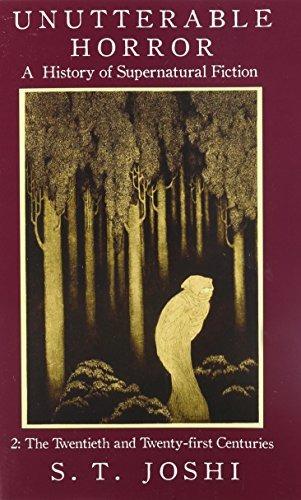 book : unutterable horror: a history of supernatural fict...