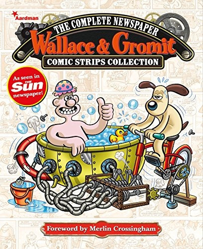 book : wallace & gromit the complete newspaper comic  (2058)