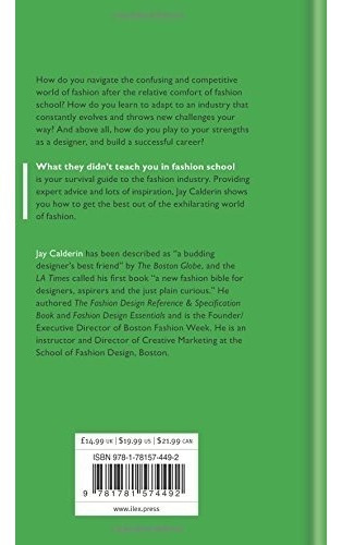 book : what they didn't teach you in fashion school (wha...