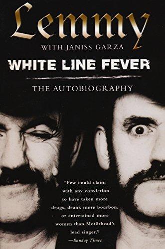 book : white line fever: the autobiography - lemmy kilmister