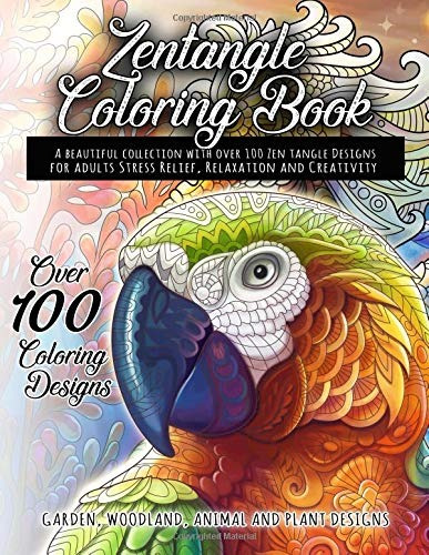 book : zentangle coloring book - a beautiful collection with