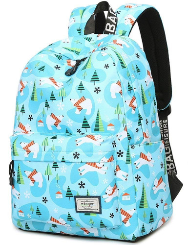 f9eed1c9f89 Bookbag Para Adolescentes , Bloomstar Agua Resistente Lindo ...