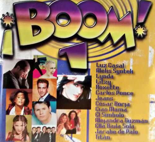 boom el disco de los exitos /luz casal,alejandra guzman, /cd