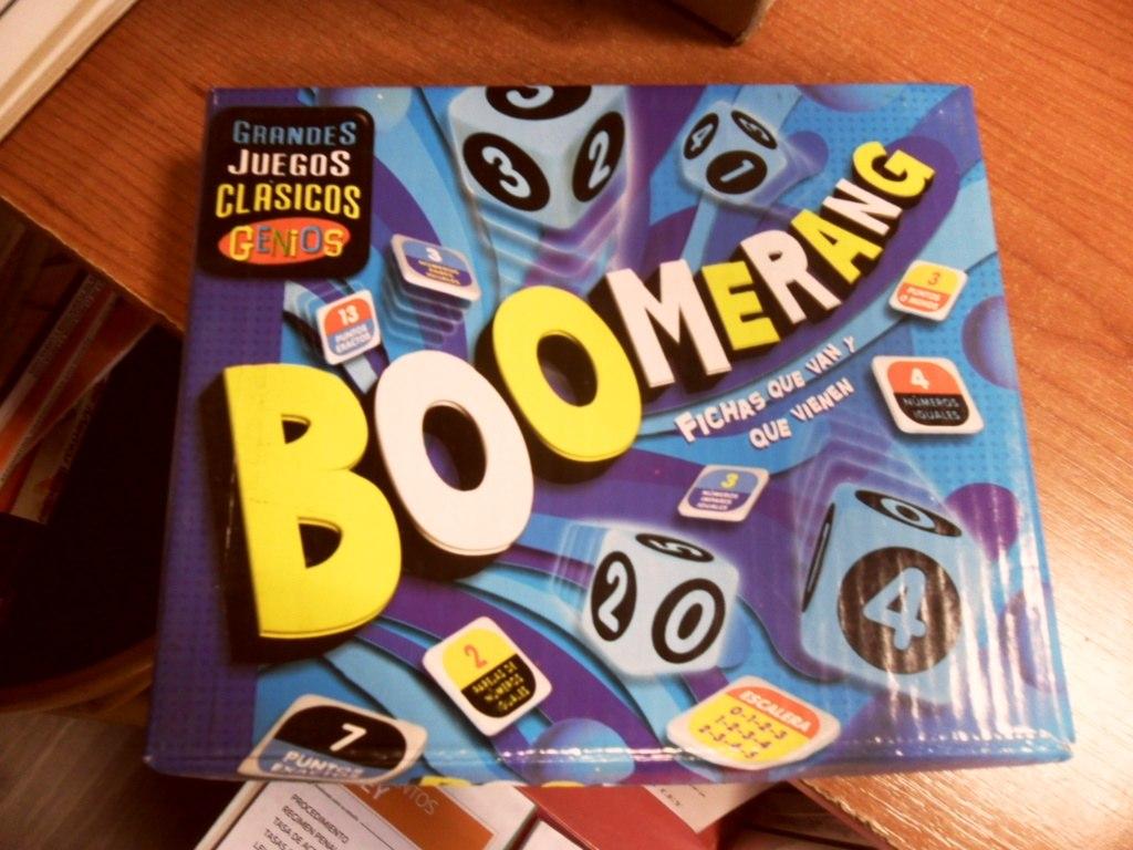 Boomerang Juego De Mesa Para Ninos En Caja 55 00 En Mercado Libre