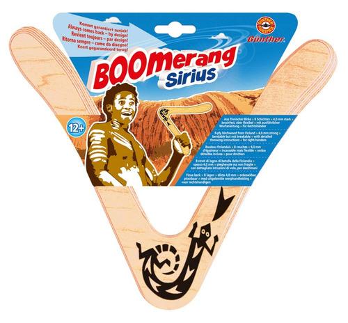 boomerang sirius gunther en madera