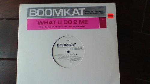 boomkat what you do to me vinilo ( para djs)