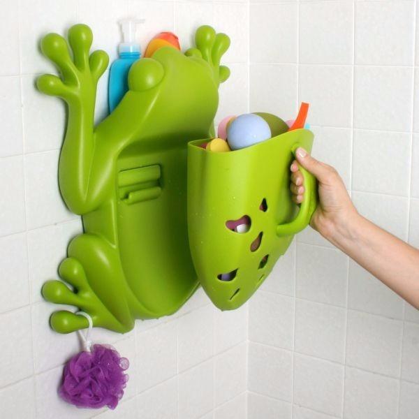 Boon frog pod scoop rana escurridor juguetes tina ba o - Juguetes bano bebe ...