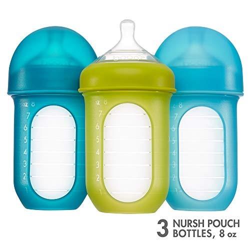 f075e7228 Boon Nursh Botella De Bolsa De Silicona 4 Oz 3pk Azul - $ 1,137.47 ...