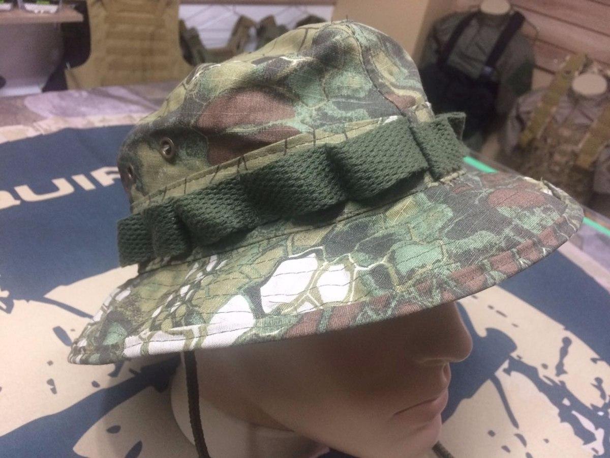 Boonie Hat Aba Curta 5cm - Kryptek Mandrake Tamanhos P 69a3bc53c09