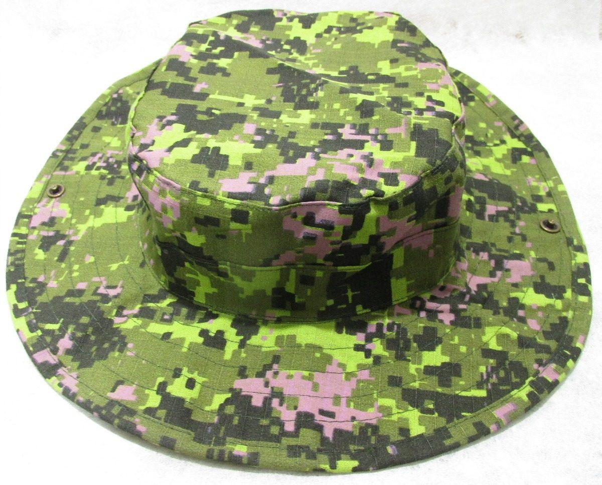boonie hat chapéu cadpat canadense bravo21. Carregando zoom. 2c57d389461