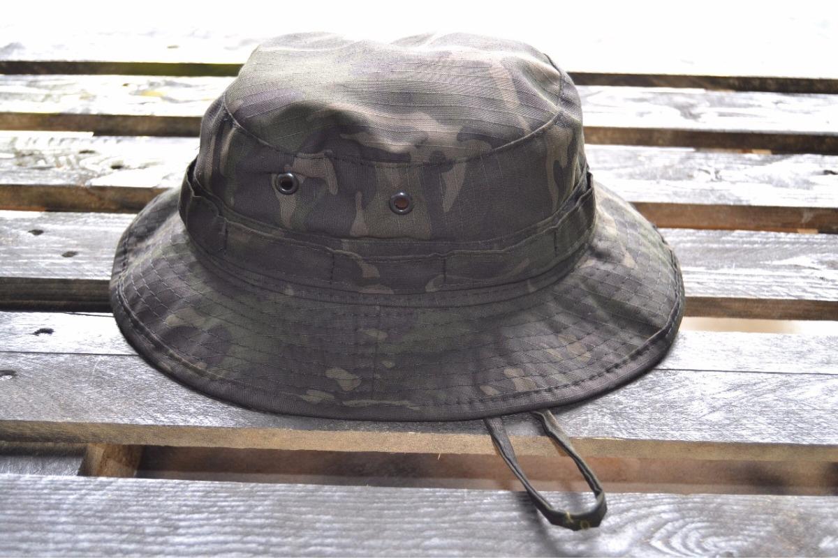 boonie hat - chapéu de selva multicam black art militar. Carregando zoom. be192c6be79