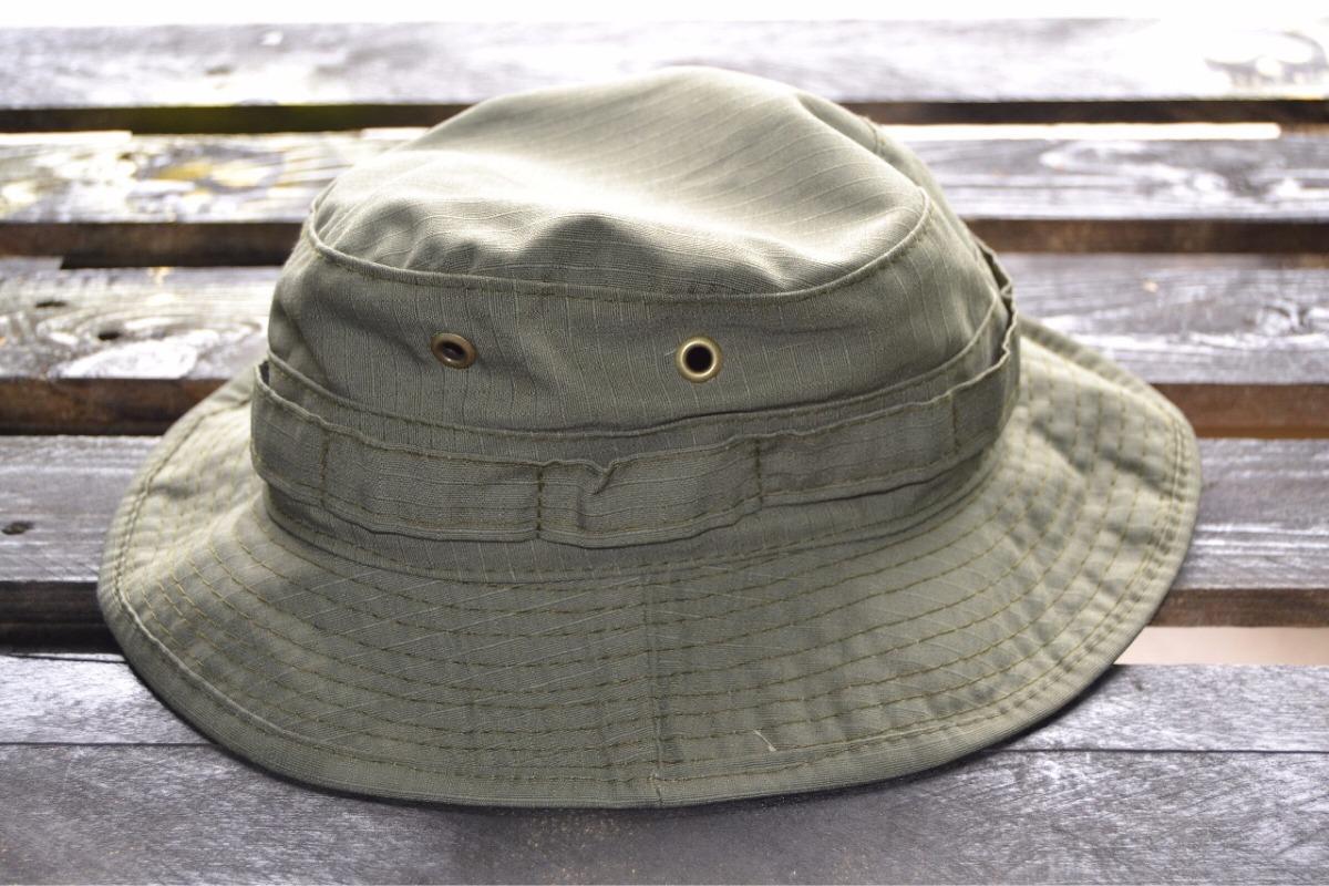 boonie hat - chapéu de selva verde art militar. Carregando zoom. 4136347a8f8