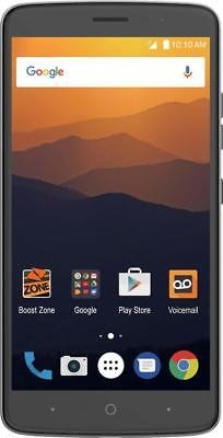 Boost Mobile Zte Max Xl 4g Lte With 16 Gb Memory Prepaid C