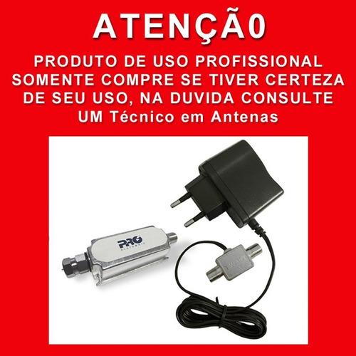 booster amplificador 40db proeletronic pqbt 4000 envio full
