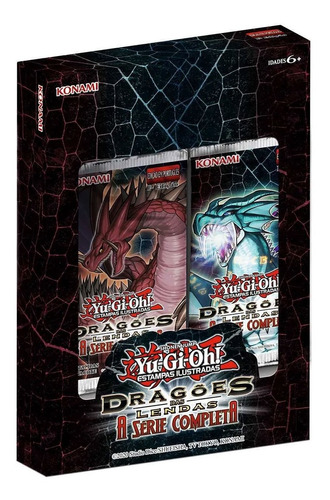 booster card game konami yu gi oh dragões das lendas