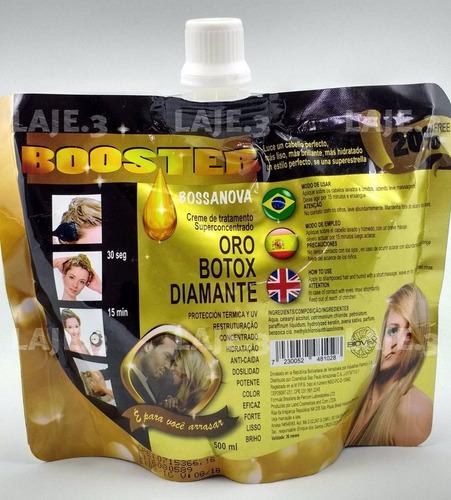 booster con oro y botox para el cabello formula de brasil