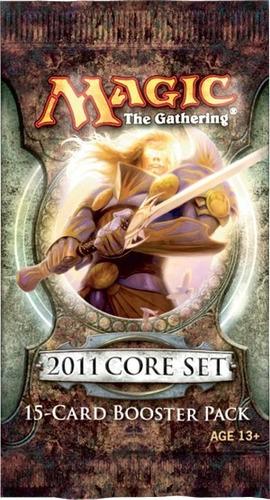 booster de magic 2011 - m11 booster pack em inglês