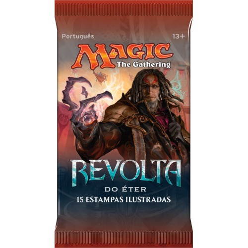 booster magic the gathering revolta do éter 15 cards pt-br