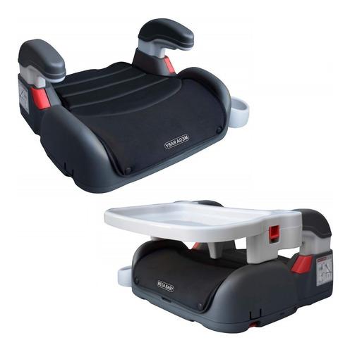 booster para auto + silla comer mega baby 2 en 1 convertible