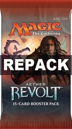 Booster Repack Mtg Bsas Aether Revolt ! 15 Cartas Magic