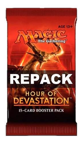 Booster Repack Mtg Bsas Hour Of Devastation 15 Cartas Magic