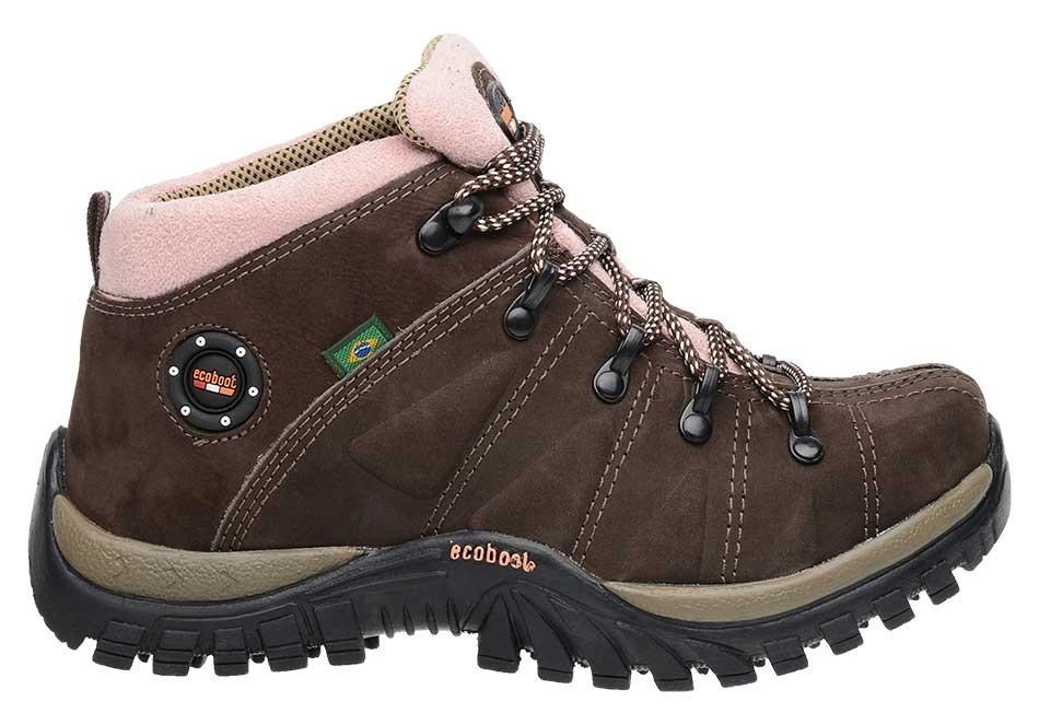 c34182bd893 boot coturno tênis adventure trilha trekking feminino couro. Carregando  zoom.