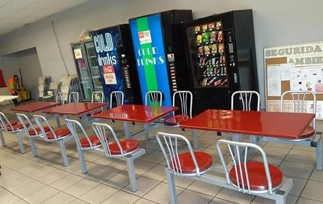 Booth banca mesa para restaurante cafeteria escuela for Comedor de escuela