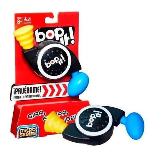 bop it micro - original hasbro - juego didáctico - el rey