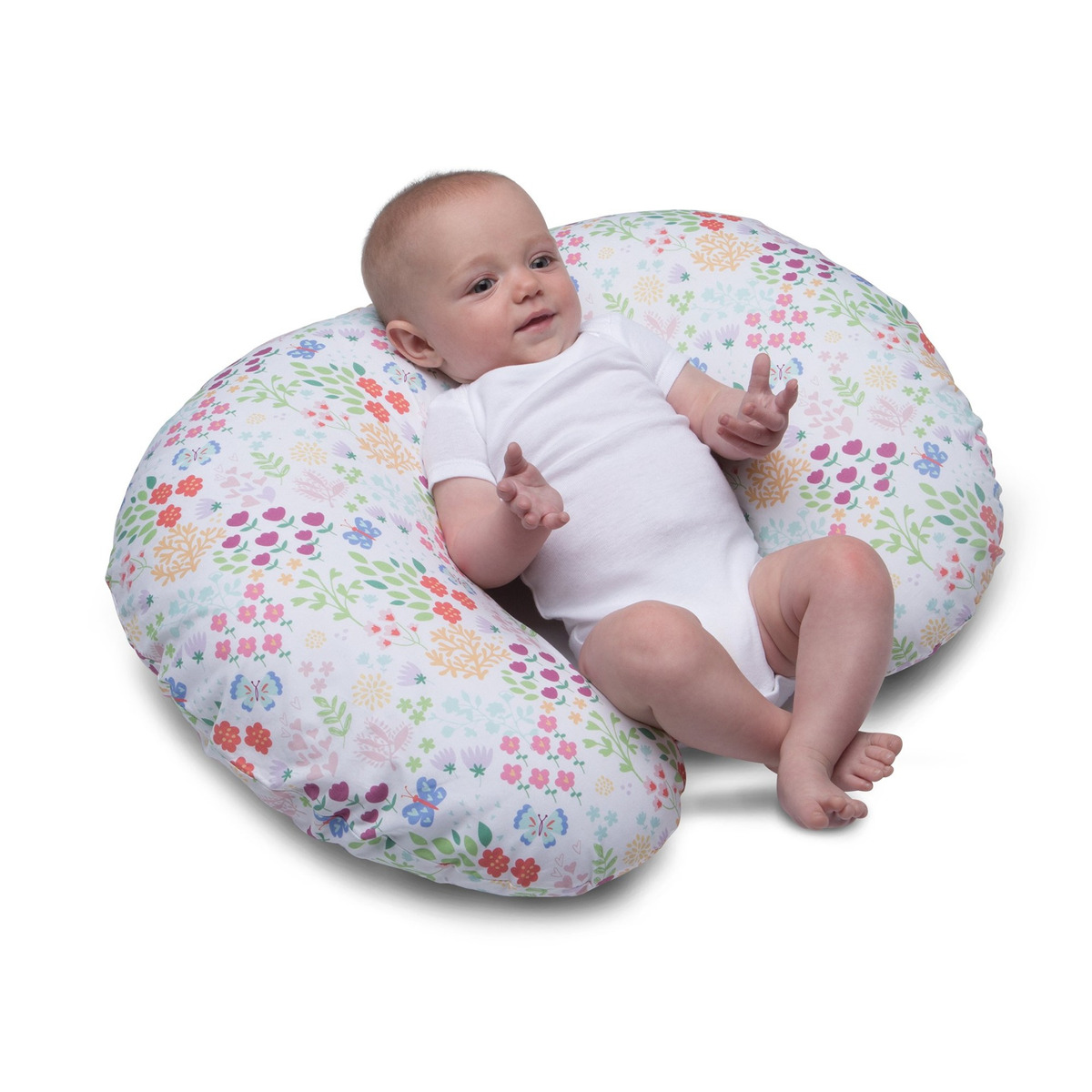 Picture of: Boppy Nursing Pillow And Positioner Fiesta En El Jardin 329 900 En Mercado Libre