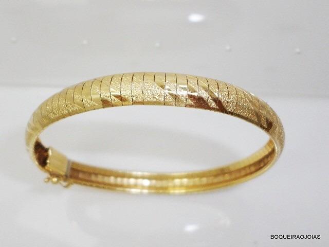 f5e1666af1a Boqueiraojoias Pulseira Bracelete Feminino Ouro 18k 750