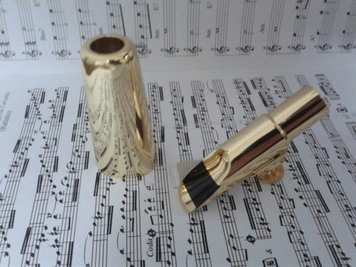 boquilha profissional maestro sax soprano a7 ótima sonoridad