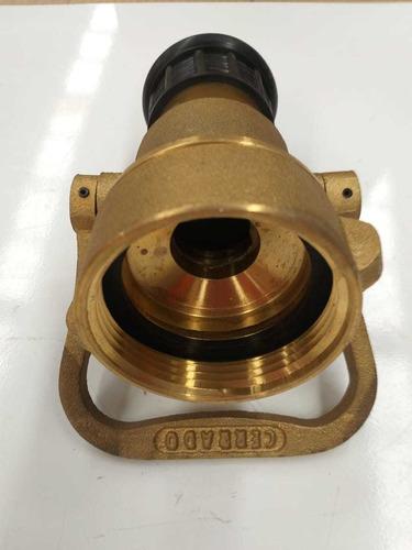 boquilla (chiflon) contraincendio 2 1 / 2   240gpm de bronce