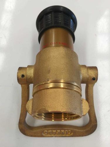boquilla contraincendio de 1 1/2   120gpm de bronce