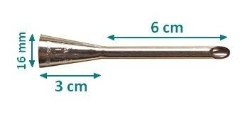 boquilla de relleno chica 6cm parpen