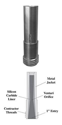 boquilla o pico venturi para sandblasting clemco nro6 y nro7