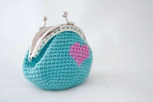 Boquilla Pellizco Monederos Crochet Dos Agujas $ 210 C/una - $ 210 ...