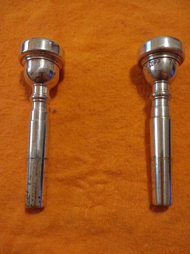 boquillas bach de trompeta (el precio es por la  prueba)