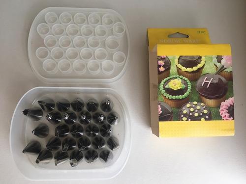 boquillas para decorar tortas y galletas marca nordic ware
