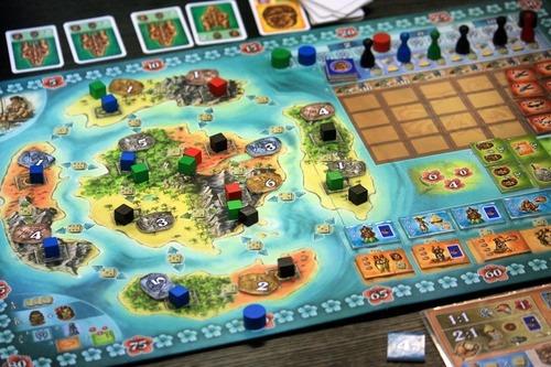 Bora Bora Juego De Mesa Recursos Estrategia 5 981 43 En Mercado